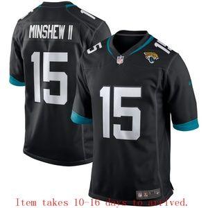 Jaguars #15 Gardner Minshew II Jersey